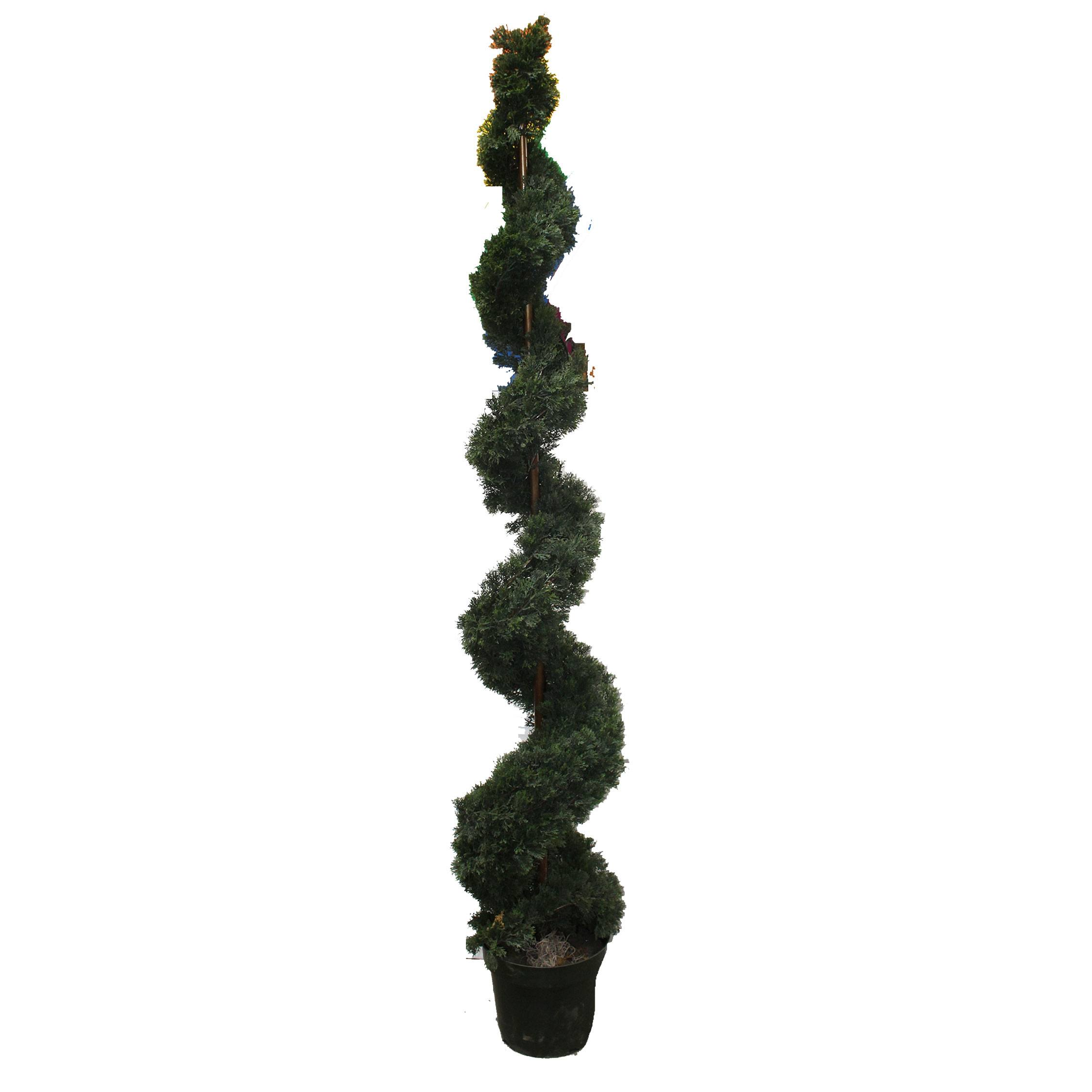 Spiral Topiary Tree Artificial Decor Props Pacific Event Productions